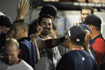 Adrian Gonzalez has given the Red Sox plenty of reasons to smile this year.