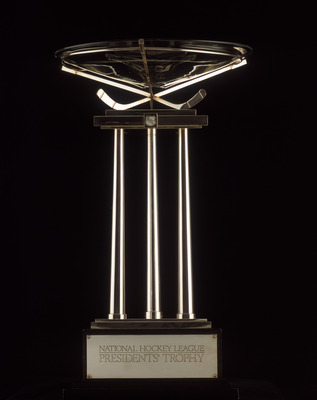 TORONTO - JANUARY 1:  The President's Trophy is presented yearly to the team with the Best Regional Season Record by the National Hockey League as pictured on January 01, 2001.  (Photo by Silva Pecota /Getty Images/NHLI)