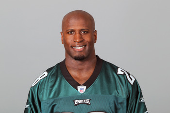 PHILADELPHIA, PA - APRIL 29: In this 2010 photo provided by the NFL, Marlin Jackson of the Philadelphia Eagles poses for an NFL headshot on Thursday, April 29, 2010 in Philadelphia, Pennsylvania. (Photo by NFL via Getty Images)