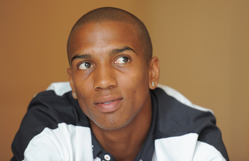 HERTFORD, ENGLAND - AUGUST 08:  Ashley Young speaks to the media during an England Press Conference at The Grove Hotel on August 8, 2011 in Hertford, England.  (Photo by Michael Regan/Getty Images)