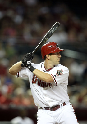 PHOENIX, AZ - JULY 15:  Willie Bloomquist #18 of the Arizona Diamondbacks bats against the Los Angeles Dodgers during the Major League Baseball game at Chase Field on July 15, 2011 in Phoenix, Arizona. The Dodgers defeated the Diamondbacks 6-4.  (Photo by