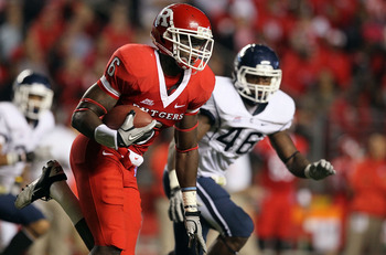 Mohamed Sanu will play receiver this year for the Scarlet Knights