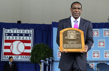 """The Hawk"" soared into Cooperstown in 2010."