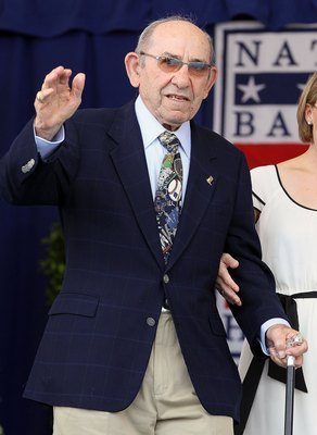 Yogi Berra, perhaps the most under-appreciated living HOFer. He has 10 WS rings, for crying out loud!