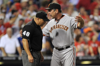 Bochy is known as a &quot;players' manager.&quot; Is he tough enough on this bunch?