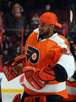 PHILADELPHIA - JANUARY 12:  Ray Emery #29 of the Philadelphia Flyers looks on against the Dallas Stars on January 12, 2010 at Wachovia Center in Philadelphia, Pennsylvania. The Flyers defeated the Stars 6-3.  (Photo by Jim McIsaac/Getty Images)