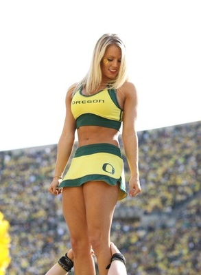 When The Oregon Cheerleaders Decide To Start Their Own ...