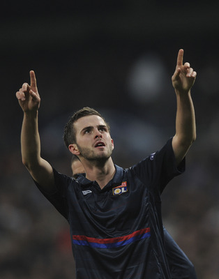 Is Pjanic looking to the skies, or looking to the future?