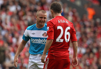 Charlie Adam dominates Lee Cattermole