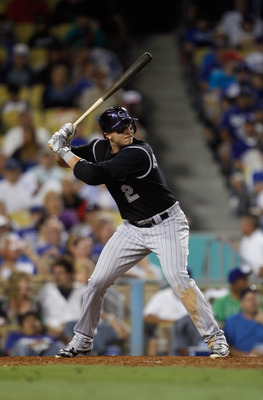 Troy Tulowitzki leads the Rockies
