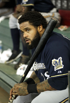 Prince Fielder leads the Brewers to the top of the NL Central
