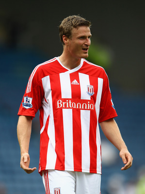 SHEFFIELD, ENGLAND - JULY 30:  Robert Huth of Stoke City in action during the pre season friendly match between Sheffield Wednesday and Stoke City at Hillsborough Stadium on July 30, 2011 in Sheffield, England.  (Photo by Clive Brunskill/Getty Images)