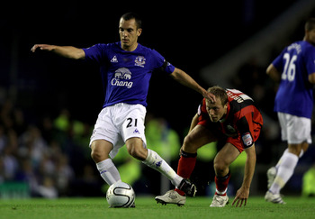 Osman has become an Everton regular