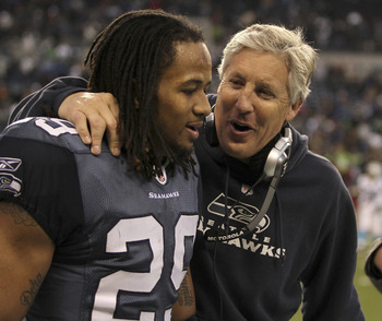Earl Thomas & Pete Carroll