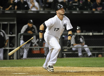 Tyler Flowers hit one of five White Sox triples against the Indians on Tuesday night.