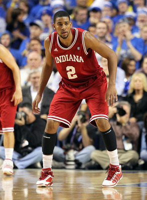 LEXINGTON, KY - DECEMBER 11:  Christian Watford #2 of the Indiana Hoosiers is pictured during the game against the Kentucky Wildcats on December 11, 2010 in Lexington, Kentucky.  (Photo by Andy Lyons/Getty Images)