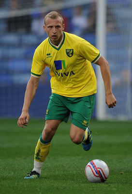 LONDON, ENGLAND - JULY 26:  Ritchie De Laet of Norwich City during the Pre Season Friendly match between Crystal Palace and Norwich City at Selhurst Park on July 26, 2011 in London, England.  (Photo by Christopher Lee/Getty Images)