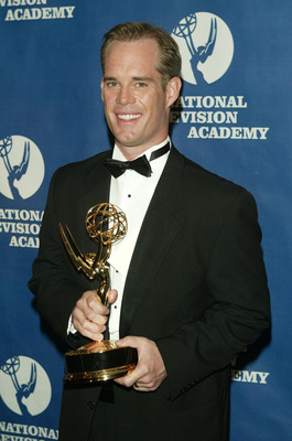 NEW YORK - APRIL 19:  Sports announcer Joe Buck attends the 25th Annual Sports Emmy Awards April 19, 2004 in New York City.  (Photo by Peter Kramer/Getty Images)