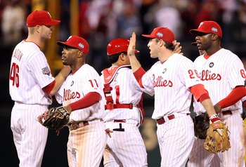 A large chunk of the Phillies payroll has been spent to retain their homegrown stars.