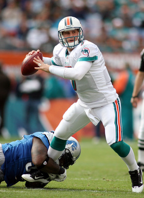 Time is running out for Chad Henne to prove himself to be the Dolphins' answer at quarterback