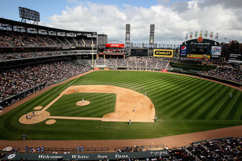 CHICAGO, IL - AUGUST 14:  Clouds form shadows across the field during a game between the Chicago White Sox and the Kansas City Royals at U.S. Cellular Field on August 14, 2011 in Chicago, Illinois.  (Photo by Jonathan Daniel/Getty Images)