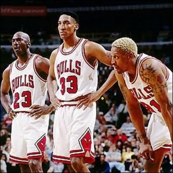 Jordan Pippen and Rodman