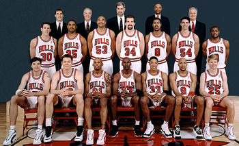 1995-1996 NBA Champion Chicago Bulls