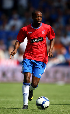 PORTSMOUTH, ENGLAND - AUGUST 08:  DaMarcus Beasley of Rangers during a Pre Season Friendly between  Portsmouth and Rangers at Fratton Park on August 8, 2009 in Portsmouth, England.  (Photo by Phil Cole/Getty Images)