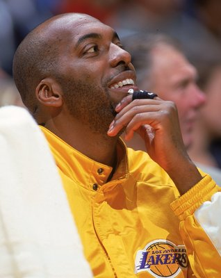 John Salley with the Lakers during the 1999-2000 season