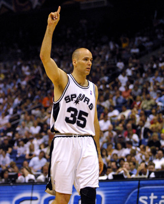 Danny Ferry during his time with the Spurs