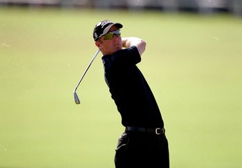 21 Jul 2000:  David Duval of the USA in action during the second round of the British Open on the Old Course at St Andrews in Scotland. \ Mandatory Credit: Andrew Redington /Allsport