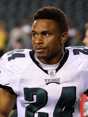 PHILADELPHIA, PA - AUGUST 11:  Nnamdi Asomugha #24 of the Philadelphia Eagles in action against the Baltimore Ravens during their pre season game on August 11, 2011 at Lincoln Financial Field in Philadelphia, Pennsylvania.  (Photo by Jim McIsaac/Getty Ima