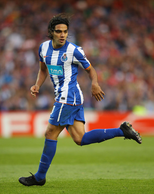 DUBLIN, IRELAND - MAY 18:  Radamel Falcao Garcia of FC Porto runs during the UEFA Europa League Final between FC Porto and SC Braga at Dublin Arena on May 18, 2011 in Dublin, Ireland.  (Photo by Alex Livesey/Getty Images)