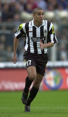 5 Nov 2000:  David Trezeguet of Juventus in action during the Serie A League Round 5 match between Reggina and Juventus played at the Oreste Granillo Stadium in Reggina. Mandatory Credit: Grazia Neri/ALLSPORT