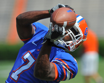 Florida's star wide receiver Robert Clark