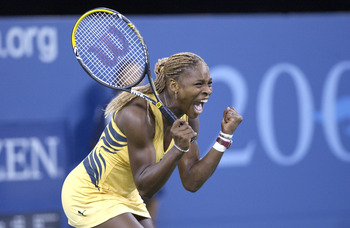 Serena battled past Lindsay in an epic match