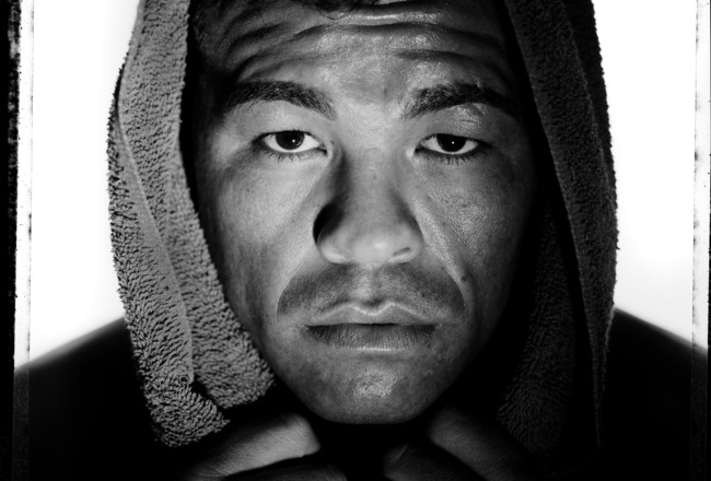 VERO BEACH, NJ - NOVEMBER 22:  Boxer, Arturo Gatti poses at Buddy McGirt's Gym on November 22, 2005  in Vero Beach, Florida. Gatti started his professional career in 1991, is presently active, and is the former Super Featherweight and Junior Welterweight