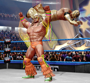 Feel the power of the Ultimate Warrior!