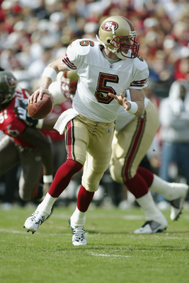 Garcia, during the 49ers last playoff run in 2003