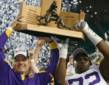 LSU won the SEC and National Championship in 2007
