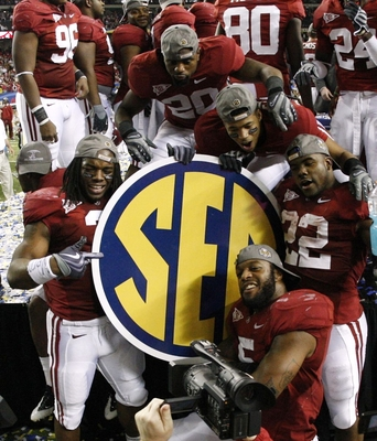 Alabama won the SEC and National Title in 2009