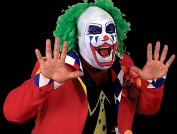 Matt Borne tried admirably to get over as the sinister Doink the Clown