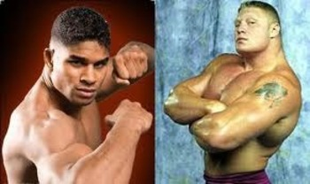 Alistair Overeem vs Brock Lesnar....perhaps?