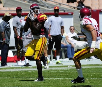 Freshman WR Marqise Lee had a breakout Fall Camp