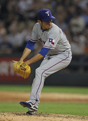 The Texas Rangers' best reliever since the All-Star break was on their roster all year long.