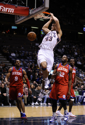 Kris Humphries #43 of the New Jersey Nets.