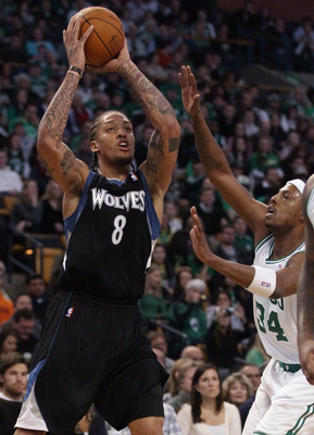 Michael Beasley (No. 8) would provide a scoring touch from the forward position in Phoenix (Beasley averaged 19.2 points per game last season).