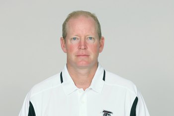 ATLANTA - 2009:  Bill Musgrave of the Atlanta Falcons poses for his 2009 NFL headshot at photo day in Atlanta, Georgia. (Photo by NFL Photos)