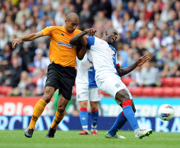 Karl Henry inflicts some pain upon Blackburn