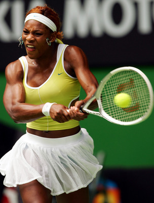 Serena dominating